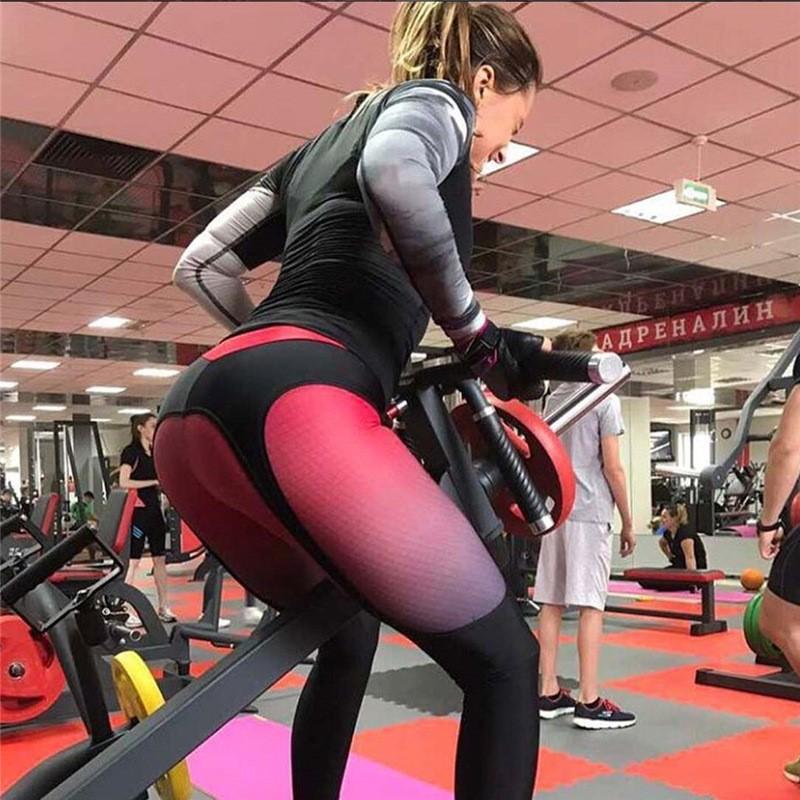 Женские лосины, леггинсы, для зала, спорта, йоги, фитнеса, с принтом (белые)