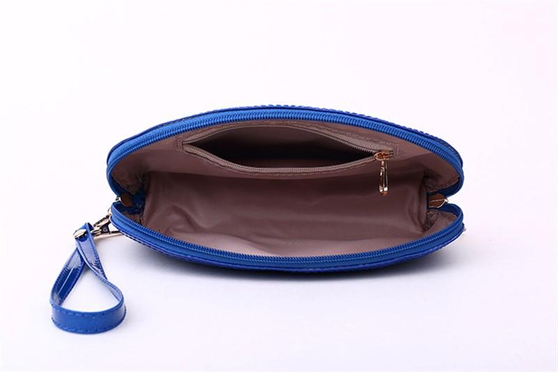 Женский чехол, футляр под сумку, кошелек для телефона (белый и синий)